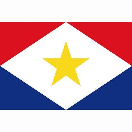 Fahne Gebiet Saba Niederlande