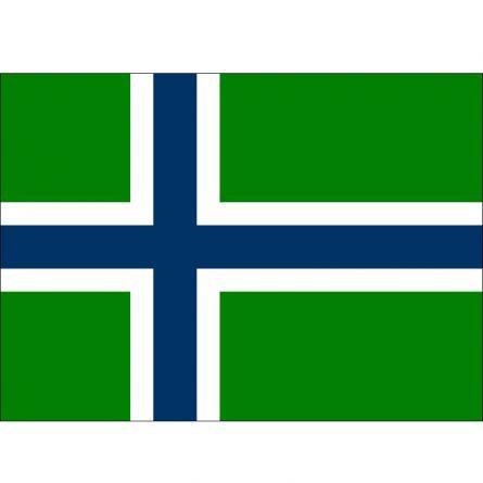 Fahne Gebiet Spitzbergen Norwegen
