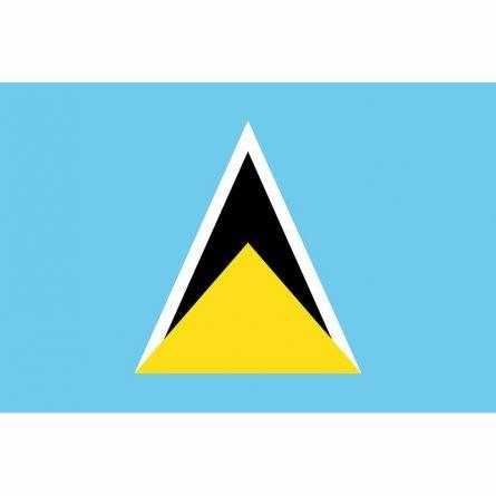 Länderfahne St. Lucia