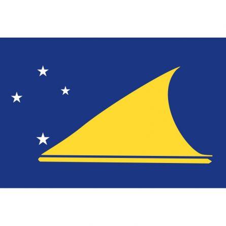 Fahne Gebiet Tokelau Neuseeland