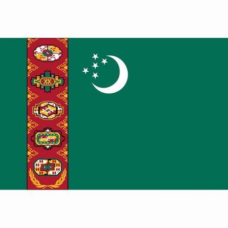 Drapeau national Turkménistan