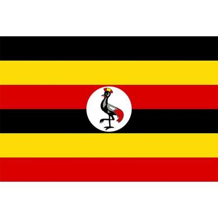 Länderfahne Uganda