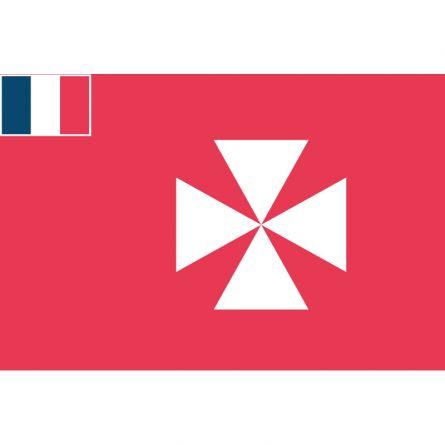 Fahne Gebiet Wallis und Futuna Frankreich