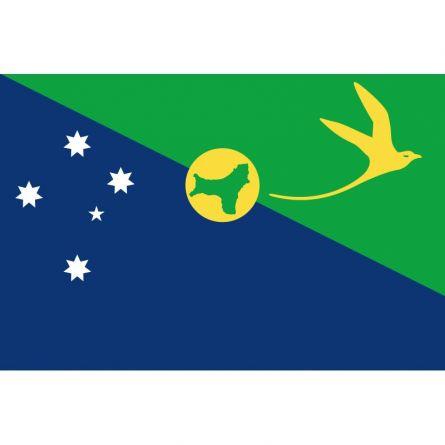 Fahne Gebiet Weihnachtsinsel Australien