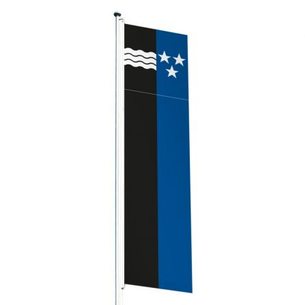 Drapeau crépitant canton Argovie Superflag® 80x300 cm