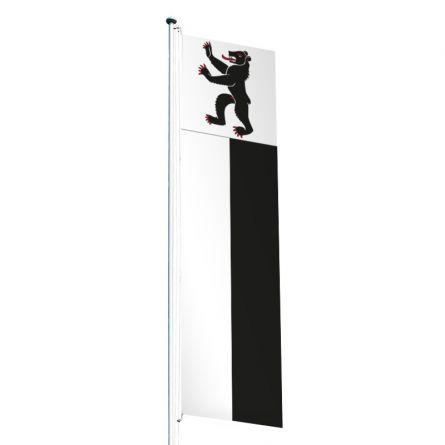 Knatterfahne Kanton Appenzell Innerrhoden Superflag® 80x300 cm