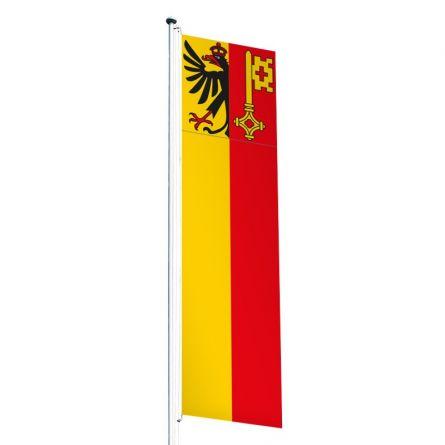 Drapeau crépitant canton Genève Superflag® 80x300 cm