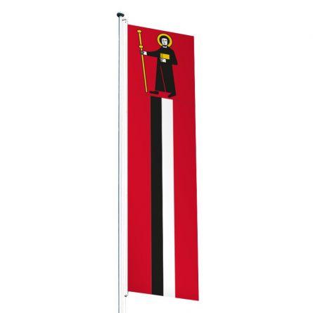 Knatterfahne Kanton Glarus Superflag® 80x300 cm