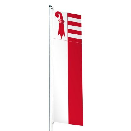 Knatterfahne Kanton Jura Superflag® 80x300 cm