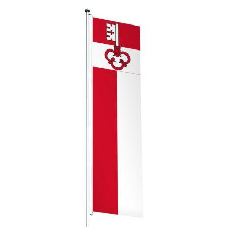 Knatterfahne Kanton Obwalden Superflag® 80x300 cm