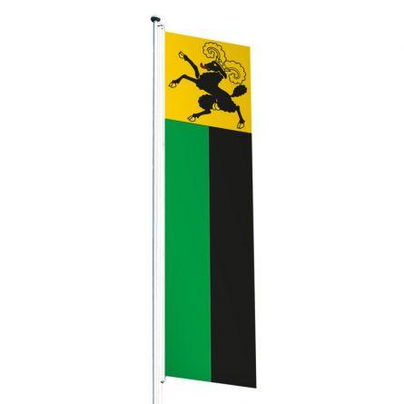 Knatterfahne Kanton Schaffhausen Superflag® 80x300 cm