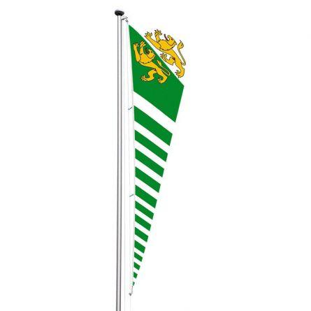 Triangelfahne Kanton Thurgau