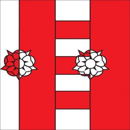 Drapeau commune 2024 St. Aubin Sauges