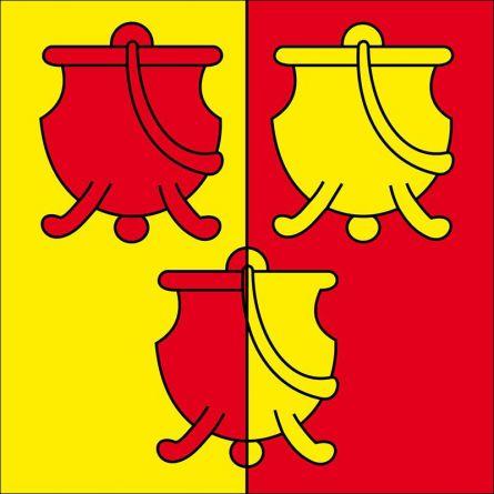Gemeindefahne 2536 Plagne