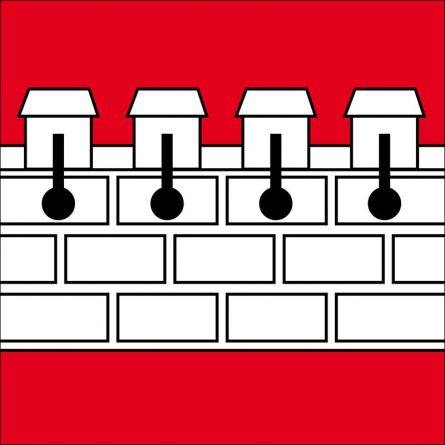 Drapeau commune 4317 Wegenstetten