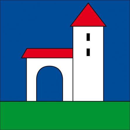 Drapeau commune 6418 Rothenthurm