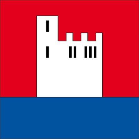 Drapeau commune 6424 Lauerz