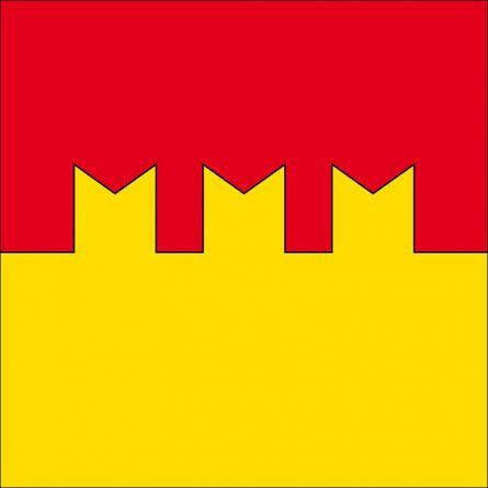 Drapeau commune 6563 Mesocco