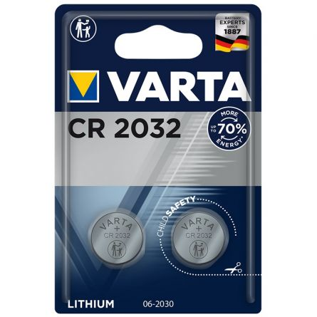 VARTA Electronics CR2032 2er Blister