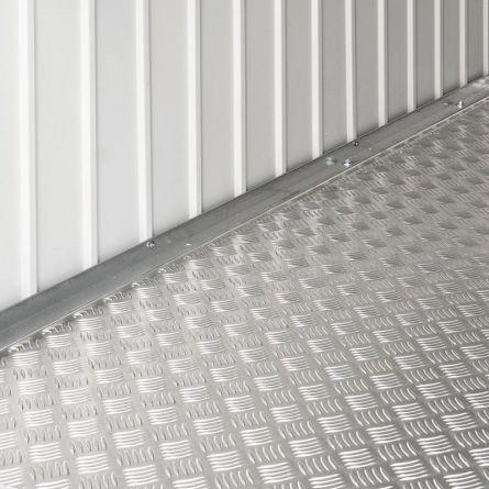 biohort Alu-Bodenplatte passend zu Gerätehaus «AvantGarde» L