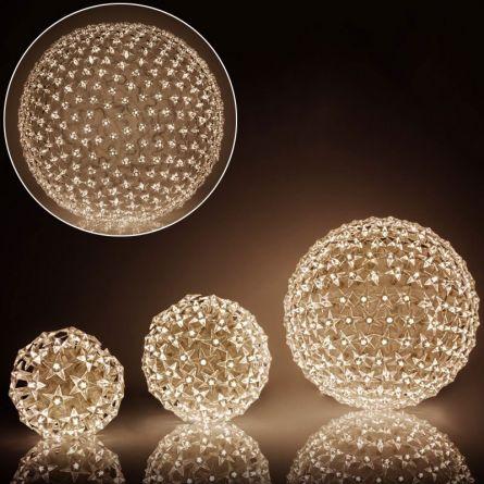 LED Lichtkugeln «Star» 300 LED warm-weiss
