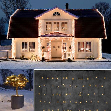 LED Lichtervorhang «STAR NEO-sw»