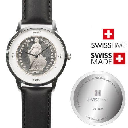 Swisstime Armbanduhr «Helvetia» – Limited Edition