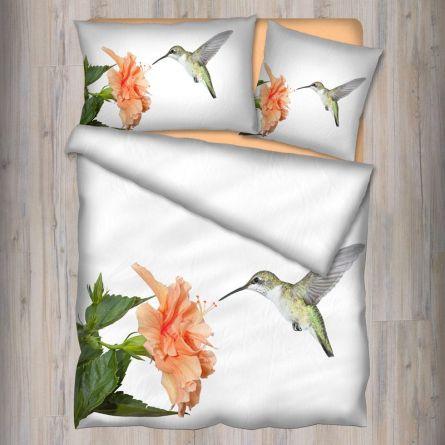 Bettwäsche «Kolibri», Renforcé