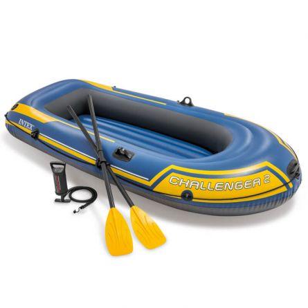 INTEX Schlauchboot Set «Challenger» 2 Personen 236x114x41 cm