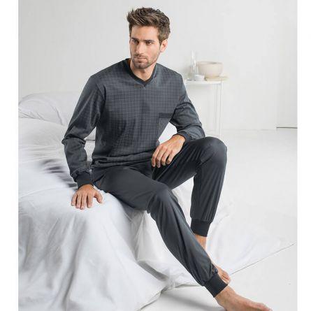 Herren Pyjama «Squared»