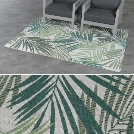 Out- und Indoor-Teppich «Leaf»