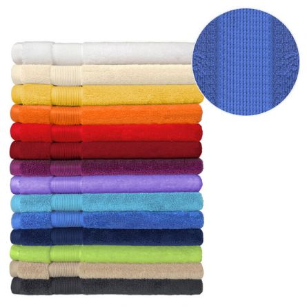 Tissu éponge «Uni» serviette, 50x100 cm