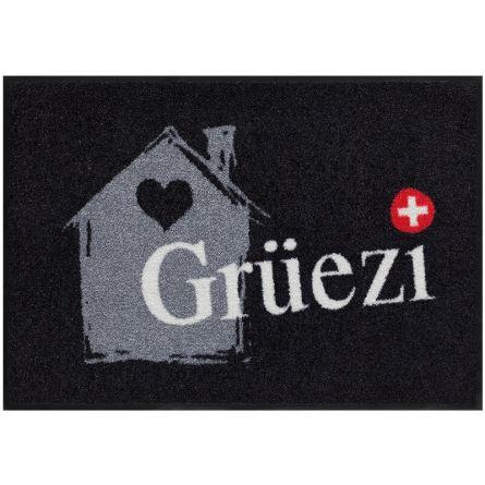 Fussmatte «Grüezihaus» 50x75 cm