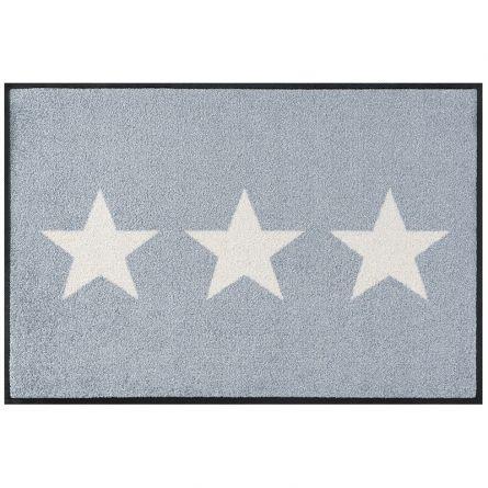 Fussmatte «Sterne grau» 50x75 cm