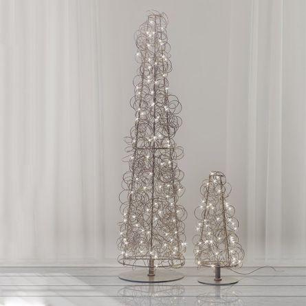 LED Baum «Angel Hair», silver
