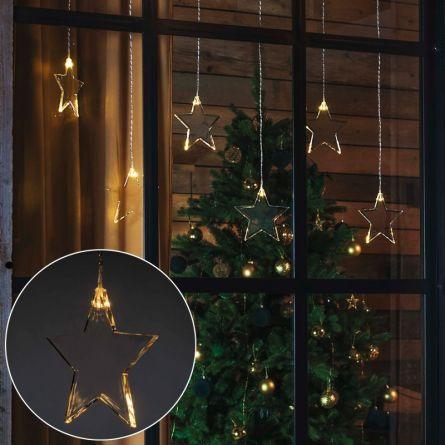LED Lichtervorhang «Star»