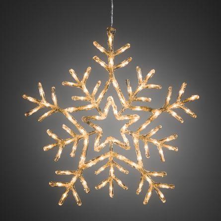 Flocon de neige acrylique LED