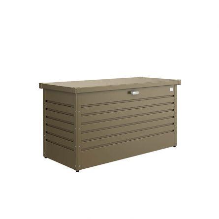 biohort Hochwertige Freizeitbox «Metall» 460 Liter, bronze-metallic