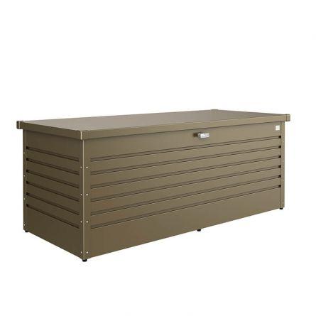 biohort Hochwertige Freizeitbox «Metall» 800 Liter, bronze-metallic