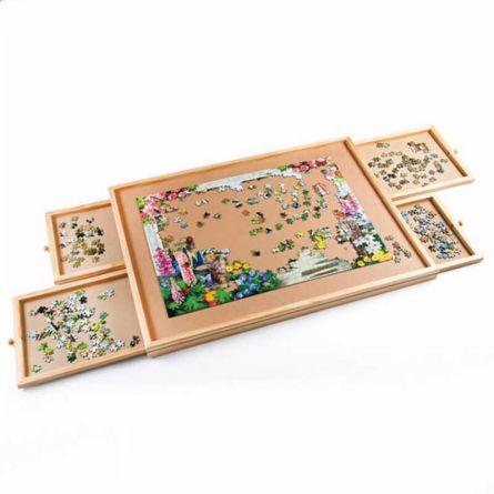 Puzzle- und Basteltisch «Deluxe»