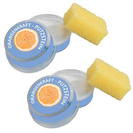 Putzstein «Orangenkraft», 2er Sparset