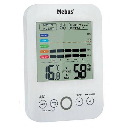 Thermo-/hygromètre avec alarme de moisissure