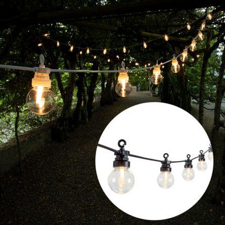 Guirlande lumineuse de fête LED solaire «Nostalgie»