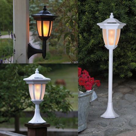 Lanterne solaire à LED clignotante «4-en-1»