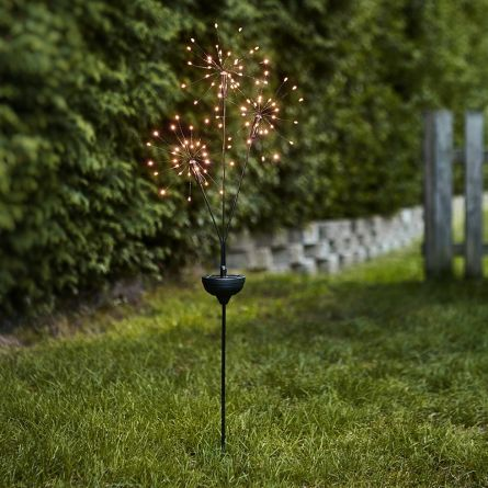 Firework solaire LED «Tri-Star»