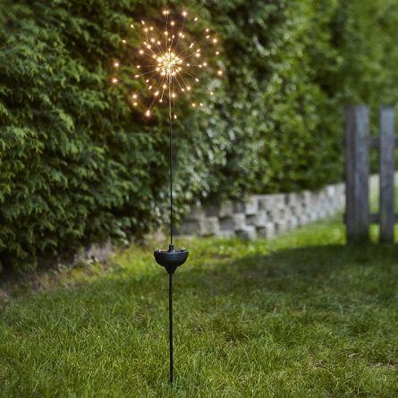 Firework solaire LED «Star»