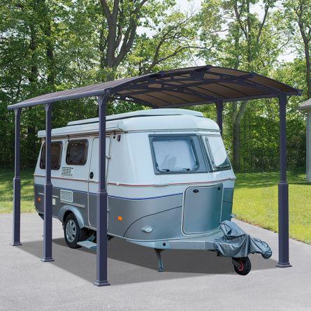Carport «Alpine», S, 502×359×352 cm
