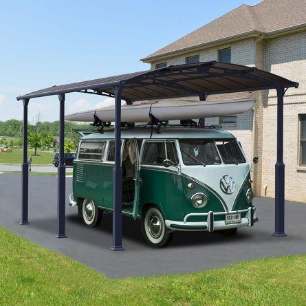 Carport «Alpine», M, 644×359×352 cm