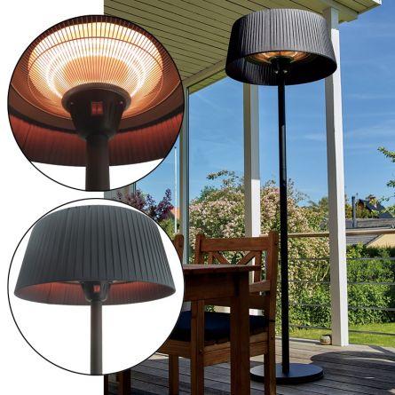 Chauffage extérieur «Design d'un lampadaire»