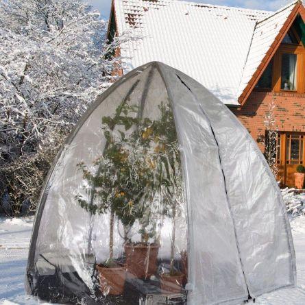 Winterquartier & Gewächshaus Occasion «Iglu Premium» 280 cm x Ø 340 cm XL